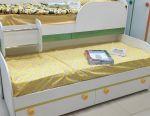Bunk rollaway bed