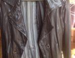 ILGAZLI jacket leather original
