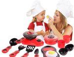 Νέο σύνολο παιδικών πιάτων.