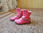 Boots spring-fall for the girl