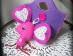 Bag and toy of felt