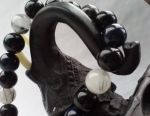Bracelet made from natural stones