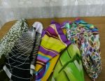 Scarves - kerchiefs 6 pcs. (Price for everything.)