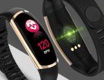 🔥 Smart Watch brățară de sănătate R16 Gold Nou