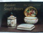 Kart dizisini Rus snuffboxes