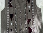 Erkek kolsuz ceket