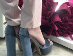 New Velvet Sandals