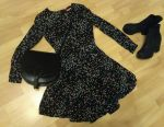 Φόρεμα σε πολύχρωμες polka κουκκίδες