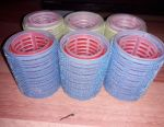 Velcro curlers, 12pcs (small and large)