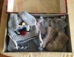 Setul este tricotat Nou