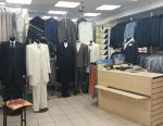 Shop of men's clothing and shoes