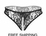 3 pieces Sexy Underwear Crotch Women