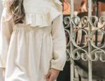 Νέο εορταστικό φόρεμα για ένα κορίτσι για 4 χρόνια