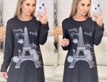 Dress tunic Eiffel Tower 40,50,52,54
