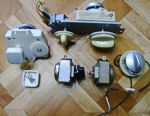 Spare parts for microwave (microwave) ovens.