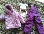 Winter children's costume