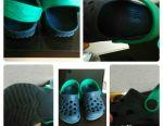 Crocs, rubber slippers