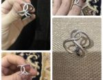 Ring. New Chanel Silver 925