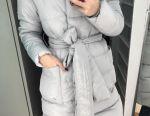 Jacheta cu o curea gri