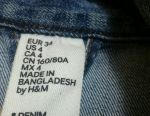 Jacheta H & M Denim