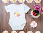 Stickers for photosession of newborns (my reach