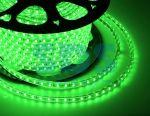Bandă 220V 14,4 W / m 5050-60-100M IP68 verde
