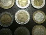 Bimetal coins
