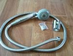 Shower head with holder and hose