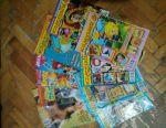 Magazines cool, animals, crosswords