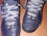 Sneakers leather branded on insole 26