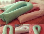 Large and soft pillows for pregnant women in stock