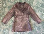 (genuine leather) Women's jacket