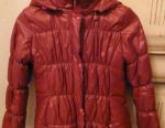 Jacket for the girl is fashionable and warm