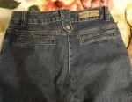 Breeches for a girl blue-gray