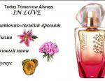 New perfume In Love