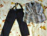 Pants Zara + Shirt for the boy TOM TAILOR