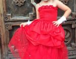 Smart red dress 2 in 1 Rose