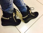 Stylish sneakers, 38 size, new