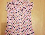 Blouse for polka dots