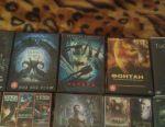 Δίσκοι DVD, ταινίες καταστροφής και φαντασίας.