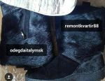 High fur boots new Cooper Italy size 46-45 fur wolf ste