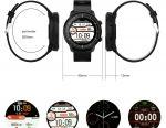 ? Розумні Годинники Senbono S10 Black IP67 Нові