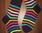Warm beautiful wool socks