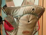 Backpack-kangaroo carrying.