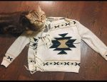 Cardigan sweater kimono sweater
