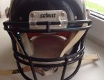 Helmet + frame for football
