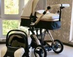 Strollers Beleko 3 in 1 New Eco Leather