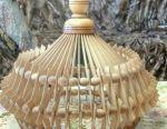 Lampă de plafon din lemn