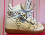Sneakers leather