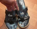 Slippers leather firms